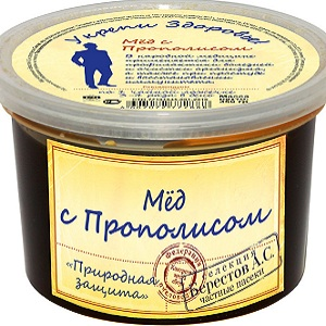 Honey with propolis by berestoff