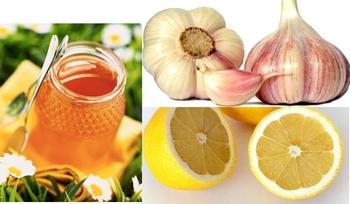 мед чеснок лимон