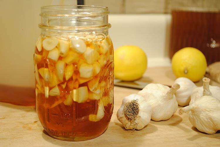 Рецепт очищающий лимона с чесноком
