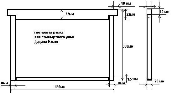 frames for beehives by vovanvi.narod